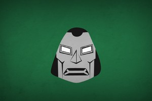 Doctor Doom Minimalism Wallpaper
