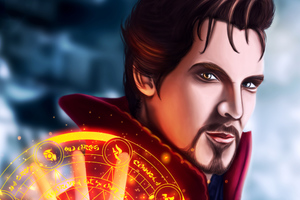 Doctor Strange Art Wallpaper
