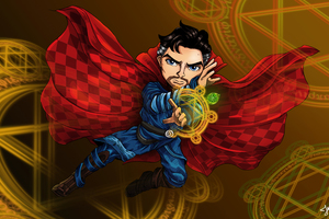 Doctor Strange Fan Artwork 4k Wallpaper