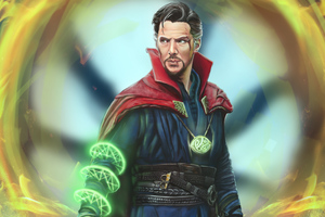 Doctor Strange Marvel Comic Art 5k Wallpaper