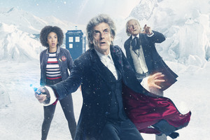 Doctor Who Season 10 Christmas Special 5k Wallpaper