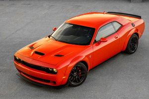 Dodge Challenger SRT Hellcat Widebody 2018 4k Wallpaper