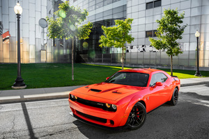 Dodge Challenger SRT Hellcat Widebody 4k Wallpaper