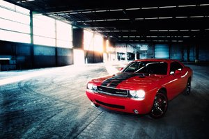 Dodge Challenger SRT Red