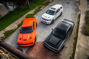Dodge Durango And Dodge Challenger SRT Hellcat Widebody Wallpaper