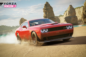 Dodge Hellcat  Forza Horizon 3 Wallpaper