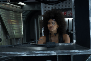 Domino In Deadpool 2 Movie Wallpaper