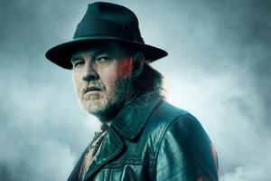Donal Logue As Harvey Bullock In Gotham Season 5 Wallpaper