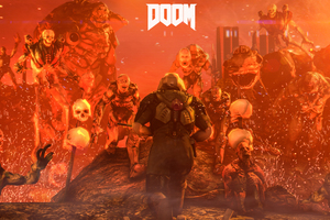 Doom 4 Digital Art