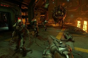 Doom 4 Xbox GamePlay