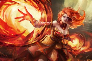 Dota 2 Video Game Fantasy Art