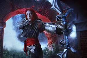 Dragon Age Inquisition Cosplay Wallpaper