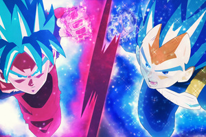 Dragon Ball Super Super Saiyan Blue 8k Wallpaper