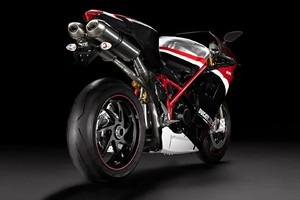 Ducati 1198 Rear Wallpaper