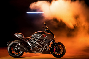 Ducati Diavel 5k Wallpaper