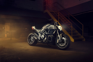 Ducati Diavel Carbon Wallpaper