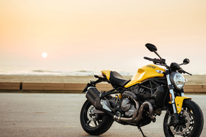 Ducati Monster 821 2017 4k Wallpaper