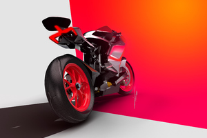 Ducati Zero Electric 2020 Rear Wallpaper