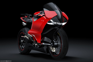 DUCATI ZERO ELECTRIC SUPERBIKE 2020 Wallpaper