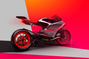 DUCATI ZERO ELECTRIC SUPERBIKE Wallpaper