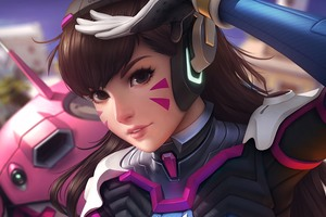 DVA Overwatch Artwork