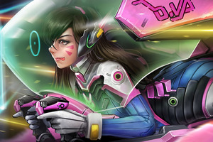 Dva Overwatch Best Artwork