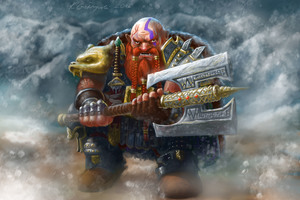 Dwarf With His Metal Hammer Wallpaper