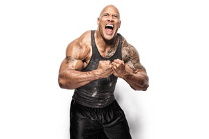 Dwayne Johnson 2017 8k