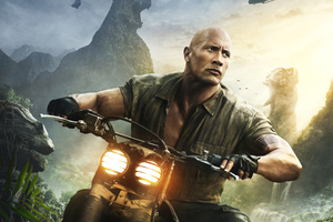 Dwayne Johnson As Dr Smolder Bravestone Jumanji Welcome To The Jungle