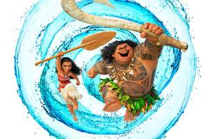 Dwayne Johnson As Maui Moana