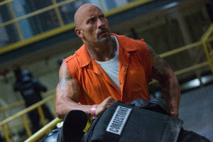 Dwayne Johnson Fast Furious 8 Bald 5k
