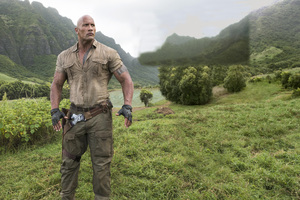 Dwayne Johnson In Jumanji Welcome To The Jungle Wallpaper