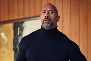 Dwayne Johnson InStyle 2017 Photoshoot Wallpaper
