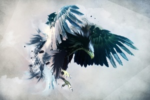Eagle Art Wallpaper