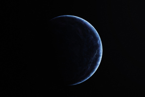 Earth A Blue Dot Wallpaper