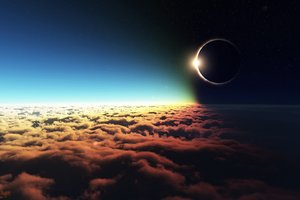Eclipse Altitude Wallpaper