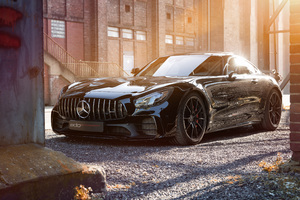 Edo Competition Mercedes AMG GTR 2018 Wallpaper