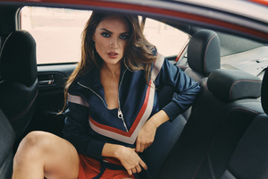 Eiza Gonzalez In Car