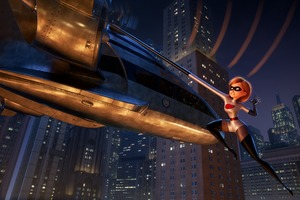 Elastigirl In The Incredibles 2 4k
