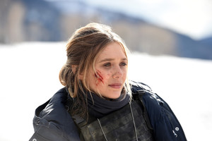 Elizabeth Olsen In Wind River Movie