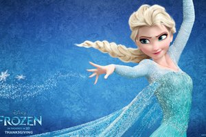Elsa In Frozen