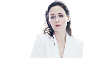 Emily Blunt C Magazine 5k Wallpaper