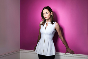 Emily Blunt Usa Today Photoshoot