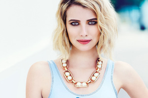 Emma Roberts Elle 2018 Photoshoot Wallpaper