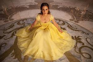 Emma Watson In Beauty And The Beast 5k Wallpaper