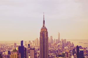 Empire State Building New York 5k Wallpaper