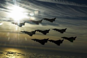 EuroFighter Typhoon Flight 4k Wallpaper