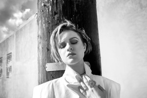 Evan Rachel Wood Monochrome 5k