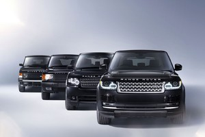 Evolution Of Range Rover