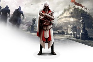 Ezio In Assassins Creed Brotherhood